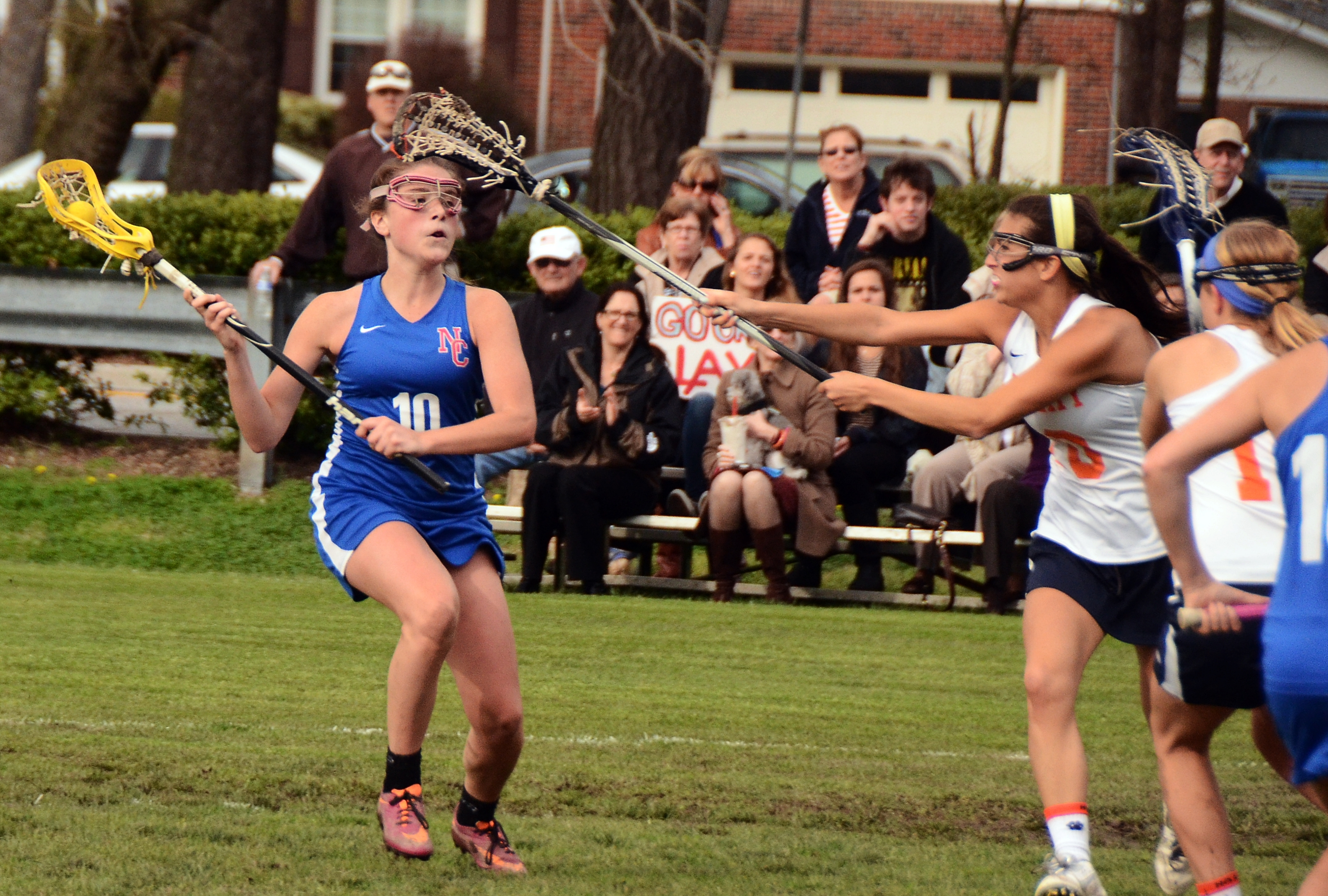 lacrosse single women Apr 24 - women's lacrosse braeunle nets single-season scoring mark in win  at purchase apr 21 - women's lacrosse late goal does in griffins in defeat at .
